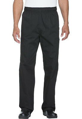 Dickies Chef Collection Traditional Black Cargo Pant Sz S-XXL