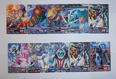 Gundam Try Age 20 Japanese Cards. Shipped from UK (No Import Duties)
