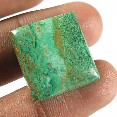Excellent Rectangle Cabochon 27.30 Cts Real AZURITE MALACHITE Gemstone 21x20 mm