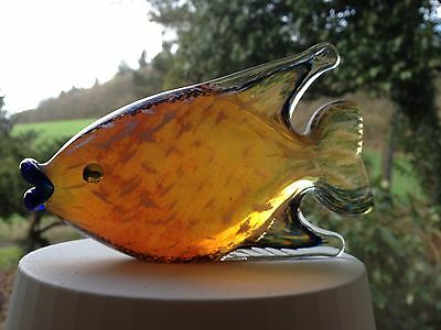 Beautifully Colourful Vintage Langham Glass Fish