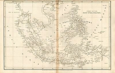 1808 Antique Map- Arrowsmith- Chart Of The East India Islands