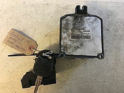Vauxhall Opel Astra Vectra Ecu Kit 09355929 Dbkl Tested Plug N Play