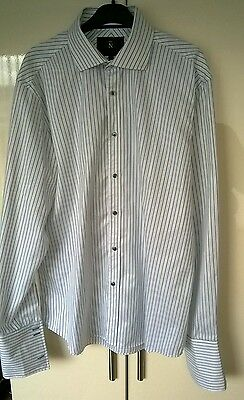 mens long sleeve shirt size 17 in collar