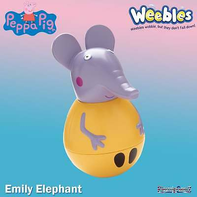 Peppa Pig Weebles Figure - Emily Elephant Wobbily Figure Pack