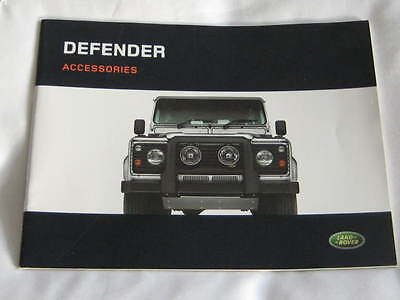 2006 Land Rover  Defender  Accessories 34 Page Large Format  Brochure