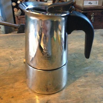 Bialetti One - Two Cup Stainless Steel Espresso Maker