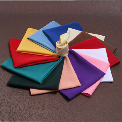 Tableware Home Dinner Table Polyester Cloth Napkins Wedding Party Hotel Colorful