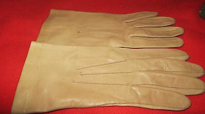 Lovely Ladies DENTS Buttersoft Beige/Nude Unlined Leather Gloves - Size 7