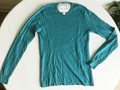pull Marc Jacobs 100% cachemire bleu turquoise, taille S