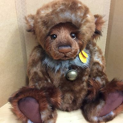 Charlie Bears Walter 20 Inch Plush Jointed Bear Brand New With Tags