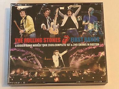 """The Rolling Stones """" First Bangs """" 4 Cd, Boston 2005"""