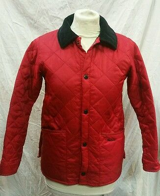 Girls Barbour Liddesdale Quilted Jacket Age 8/9 Years