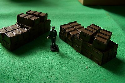 oo gauge four long style timber packing crates