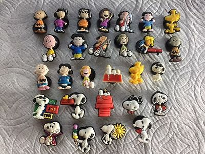 Cartoon Shoe Charms Charlie Woodstock Linus Schroeder Lucy Marcy Shoe Charms