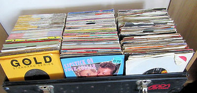 VINYL 45's over 1,000 from 60's through to 90's less than 10p each!!