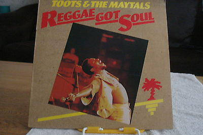Reggae-Toots & The Maytals -Reggae Got Soul-Uk Lp-Ex-1976-Roots