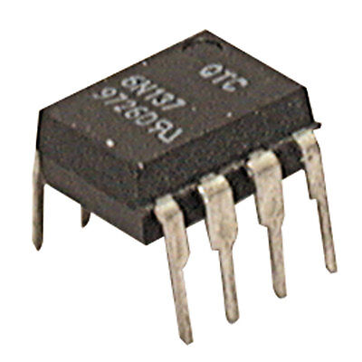 Major Brands 6N137 Optocoupler Logic Output Open Collector DC Input 1 Cha 10 pcs