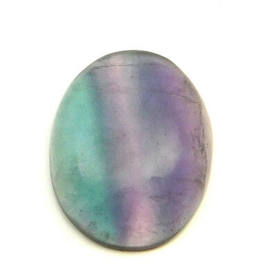44.55 cts 100% Natural Untreated Designer Fluorite Gemstone Oval Loose Cabochon