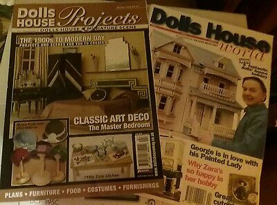 dolls house projects magazine art deco