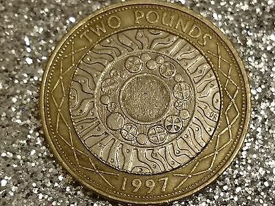 TWO POUNDS, COIN HUNT, 1997 History of Technology £2