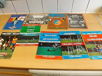 Job Lot Of Vintage Mixed Football Programmes As Ashown