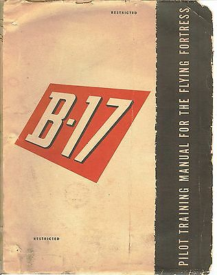 REPRINT WWII PILOT TRAINING MANUAL B-17 1944 210p