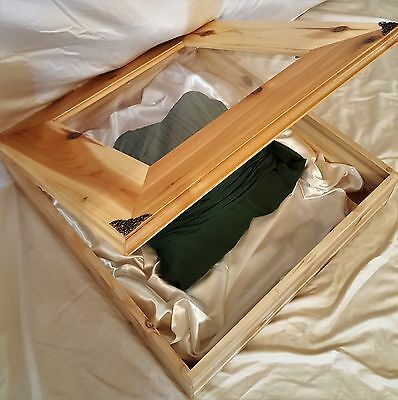 Bridal preservation Box with glass
