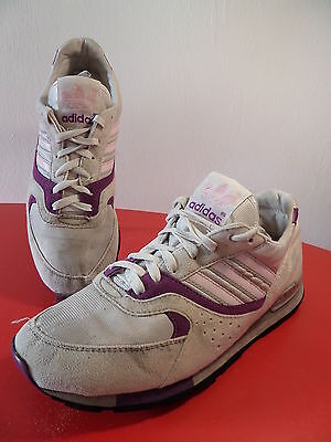 80s Adidas QUESENCE - Made in Thailand - sneakers vintage Trainers trefoil