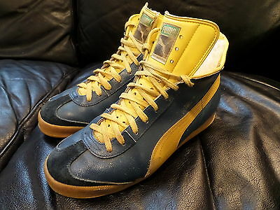 70s PUMA High top - sneakers vintage NO retro oldschool Trainers