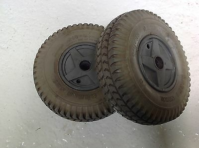 Rascal Chauffeur C245 Wheels and Tyres Back Pair