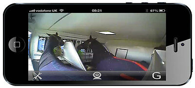 Trailer Vision Equi-Vue Horse Box Wi Fi Camera Smartphone Tablet Iphone Ipad