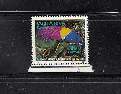 Costa Rica 1994  Fish stamp from MS Sc 475 Fine used