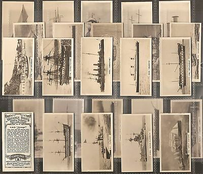 Carreras- Notable Ships Past And Present Complete Set Of 25