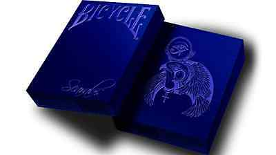 Scarab Sapphire Deck Bicycle Playing Cards Poker Size USPCC Custom Limited New