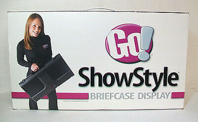 Briefcase Self-Packing Display ShowStyle  IOB With Cover & Strap GUC