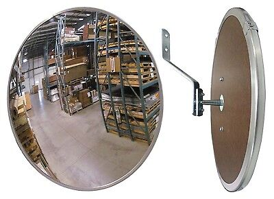 "#1 Industrial Rated 12"" Acrylic Indoor Safety & Security Convex Mirror"