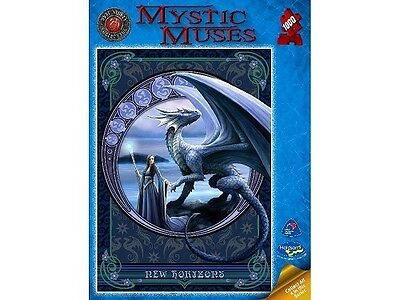 Holdson 1,000 Piece Jigsaw Puzzle - Anne Stokes: Mystic Muses: New Horizons