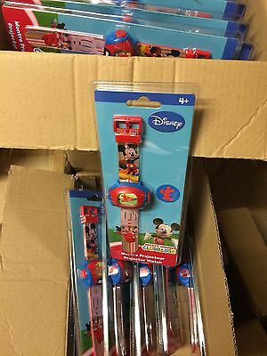 JOB LOT WHOLESALE 20 x DISNEY MICKEY MOUSE DIGITAL PROJECTOR WATCHES
