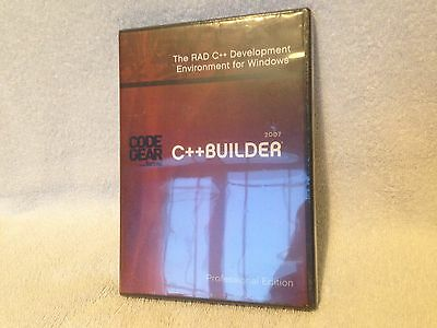 C++ Builder R2 2007 Professional Edition Dvd For Windows - Sealed