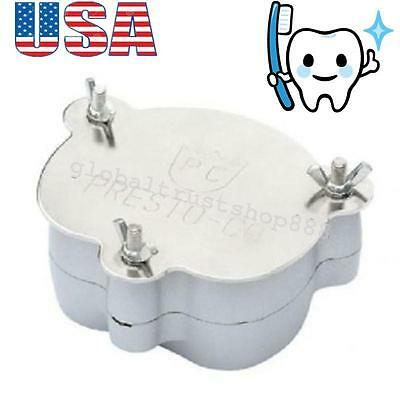 USA Dental Aluminium Denture Flask Compressor Parts Lab Clinic Dentist Equipment