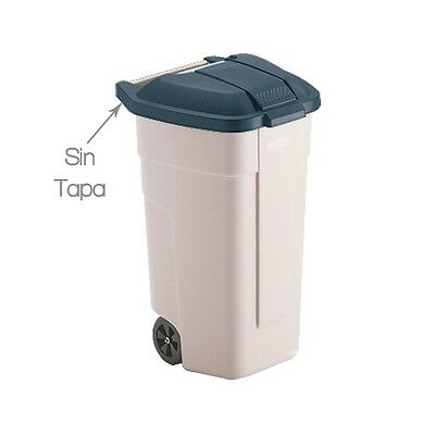 Mobil Rubbermaid Container beige