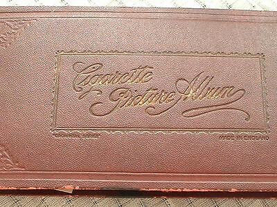 Vintage cromwell series cigarette picture album with cards