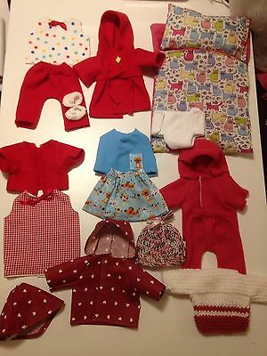 Baby Born/ Annabelle/or Dolls 44cm Tall. Hand Made Clothes Bundle
