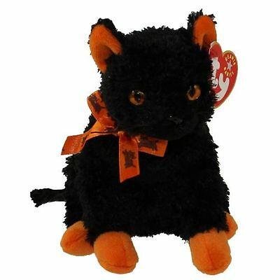 TY Fraidy the Black Cat Original BEANIE BABY 2001 Retired MWMTs