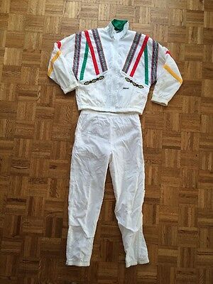 Vintage Head Sportswear Track Suit Women's Size XS Two Piece Jacket Pants White
