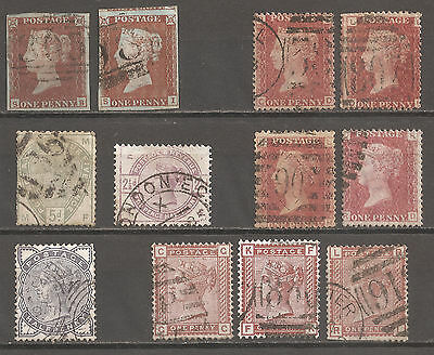 Queen Victoria issues from 1841 to 1880's.