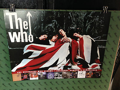 The WHO poster the kids are allright mca promotional poster RARE