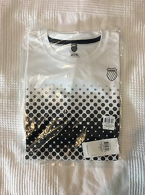 New K-Swiss T-Shirt Small RRP £24.99 NEW WITH TAGS