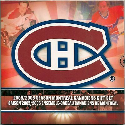 2006  Montreal Canadians  Coin Set   All Coin In Superb Condition