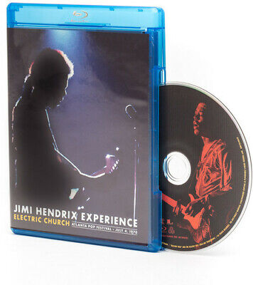 Jimi Hendrix: Electric Church (2015, Blu-ray NEW)
